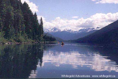 Cariboo Mountains, Rivers and Lakes